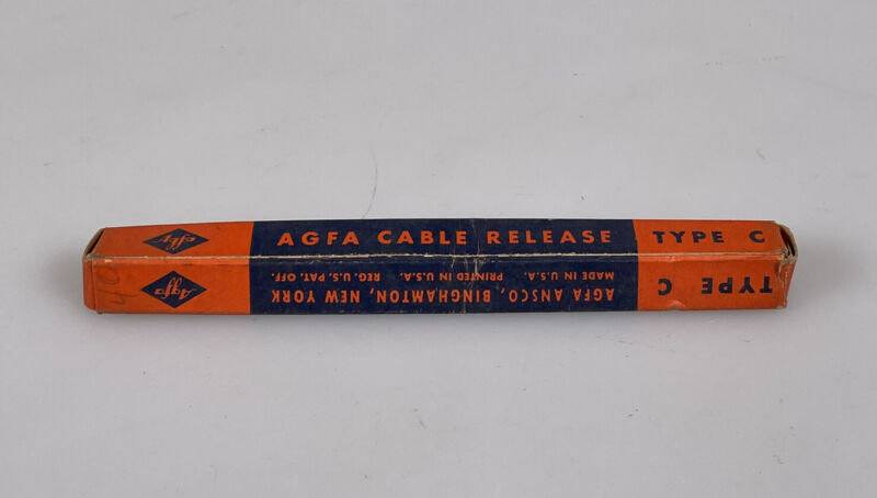 agfa cable release shutter cable NOS in the original box type C