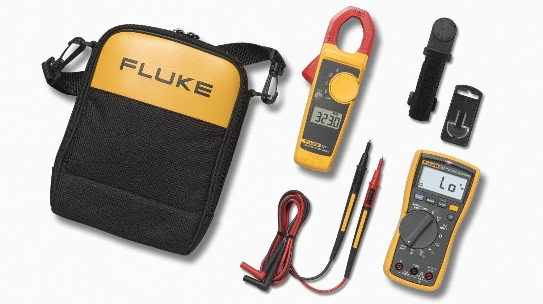 fluke 117 323 kit multimeter and clamp