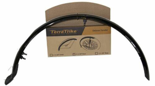 TerraTrike 20″ deluxe rear fender – recumbent trike
