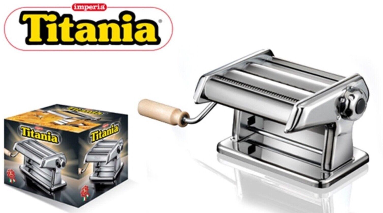 """MACCHINA PER LA PASTA IMPERIA MODELLO """"TITANIA"""" 190 MANUALE ORIGINALE 280734"""