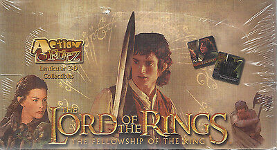 TC LORD OF THE RINGS ACTION FLIPS Box 24 Packs 3D Bilder Artbox