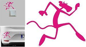 Sticker-Vinilo-Pantera-Rosa-Pink-Panther-Wall-Decall-Vinyl-Pegatina