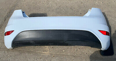 Ford Fiesta Mk7 3 Door 2009-2012 REAR BUMPER BARE White