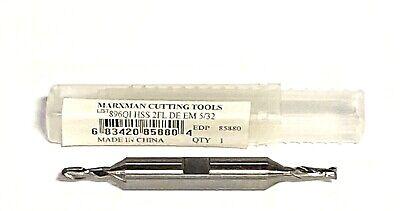 "5//16x3//8/"" HSS 2 Flute Single End Center Cutting End Mill"