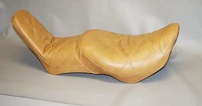Honda Vt500c Seat Cover Shadow 500 Vt500 1985 1986 Saddle Leather Brown (e)