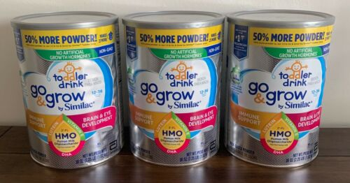 Similac Go & Grow by Similac Toddler Drink Formula, 36oz - 3 Cans