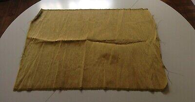 Tissu de lamé doré, métallique, assez rare