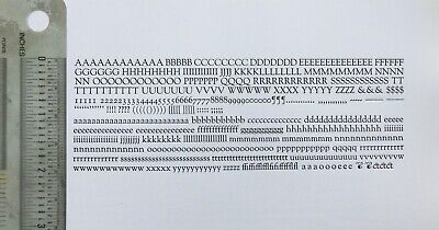 New Letterpress Type - 12 Point Goudy Old Style