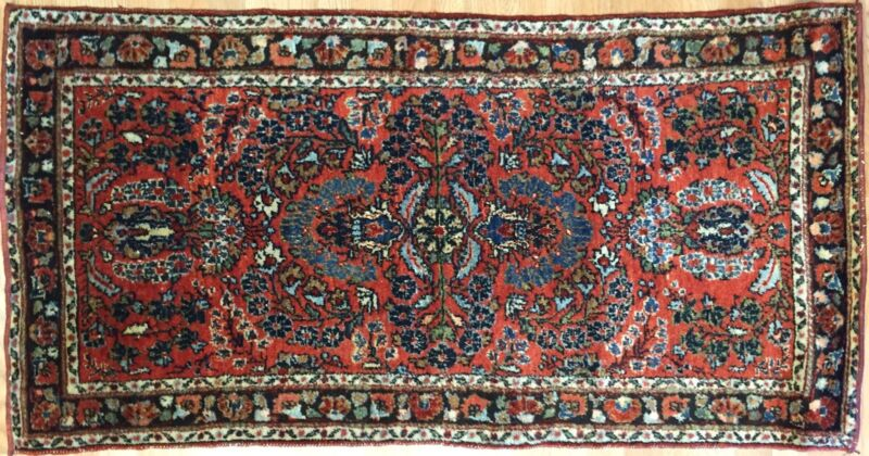 Lovely Lilihan - 1930s American Sarouk Rug - Persian Carpet - 3.5 X 5.1 Ft.