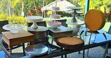 12 DIFFERENT Cake Stands Wedding Birthday Partys Afternoon Tea Bonogin Gold Coast South Preview