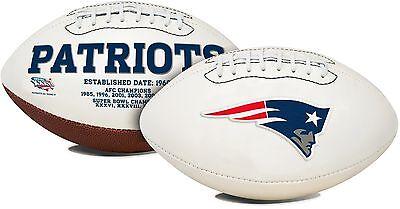 NFL New England Patriots Signature Series Team Full Size Football
