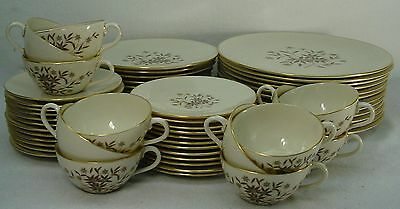 LENOX china STARLIGHT X302 pattern 60-pc SET SERVICE for TWELVE (12)