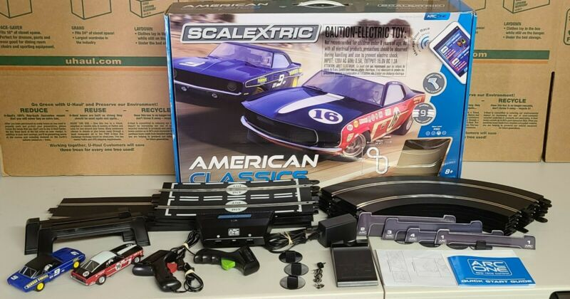 Scalextric ARC One American Classics 1/32 Scale Race Track Set C1362 *COMPLETE