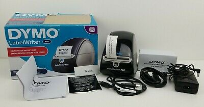 Read Dymo Professional Labelwriter 450 Tested Working Sn 1750110 1752264