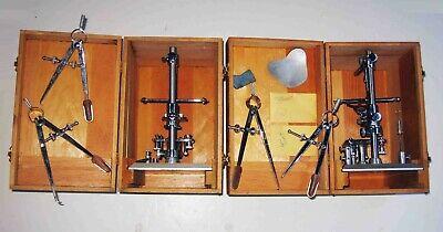 Pair C1960 Cased Jelenko Dr Pankey Occlusal Dentist Dental Articulatorscalipers