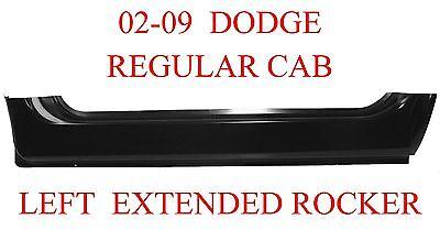 02 09 Left Dodge Extended Rocker Regular Cab Ram Truck 1.2MM Thick OEM 331-03L