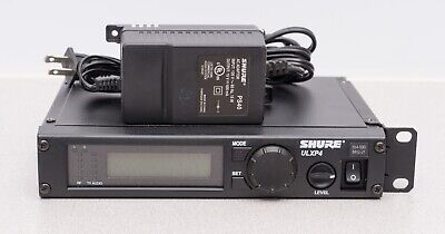 Shure ULXP4 Wireless Microphone Receiver with Power Supply - J1 554-590 MHz Power Supply Receiver