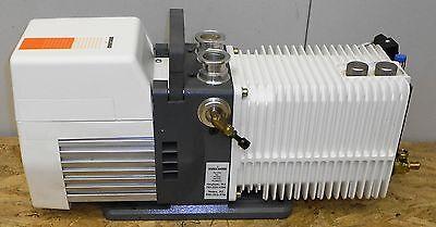 Alcdtel Vacuum Compressor Adixen Rotary Vane Pump Runs 706lr