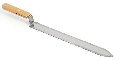 Vivo Stainless Steel Serrated Edge Uncapping Honey Knife Beekeeping Tool