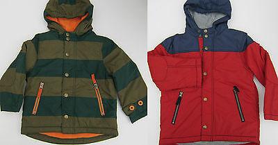 BODEN BOYS PADDED FLEECE LINED ANORAK JACKET COAT AGES 1-12 BNWOT