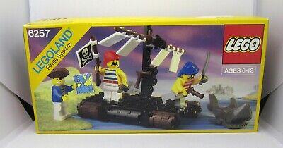 Vintage LEGO Castaway's Raft 6257 unopened sealed box