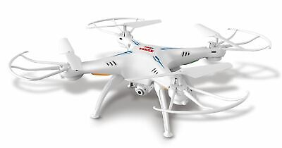 Syma Quadcopter 4Channel Wifi X5Sw 2Hd Camera 2.4Ghz Rc 6Axis 3D Ufo Rtf White
