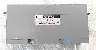 Tte Band Reject Filter R389-1557 .5m-3m-a G4496