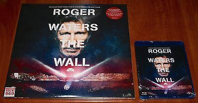 ROGER WATERS PINK FLOYD THE WALL LIVE 3x LP VINYL & BLU-RAY FILM SEAN EVANS