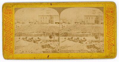 Public School Los Angeles, California Circa 1875
