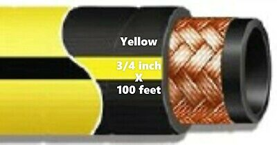 Gates 500fr Air Drill Hose 34 X 100ft. 500 Psi - Yellow - Msha Flame Resistant