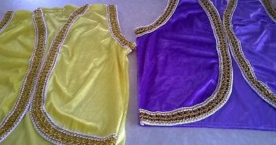 Multicultural Aladdin/Alibaba waistcoats for adults/ children School (Aladdin Pantomime Kostüm)