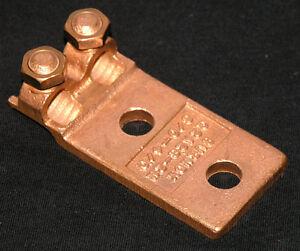 Burndy-Q2A28-2N-Copper-Mechanical-Cable-Terminal-Q2A282N-wire-connector-lug
