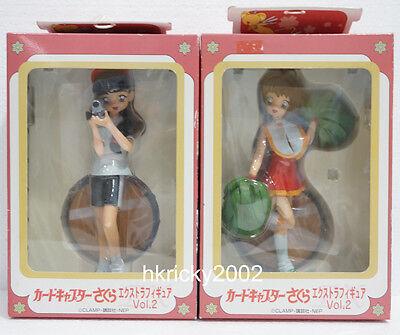 Sega Price Model Vol 2 Cardcaptor Sakura Kinomoto & Madison Taylor Figure Set