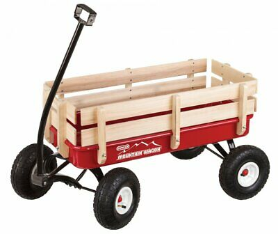 Duncan Toy Mountain Wagon | Pull-Along Wagon for Kids