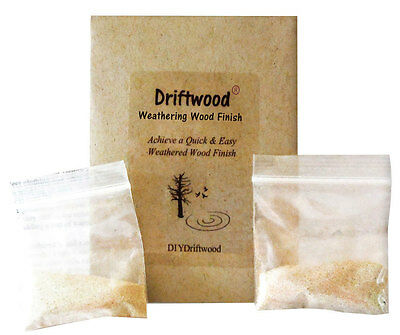 Driftwood Weathered Wood Finish Single-Pak for an easy driftwood finish