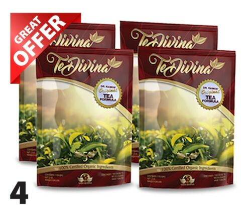 AUTÉNTICO,Te Divina,Original Detox & Cleansers tea 4 week S