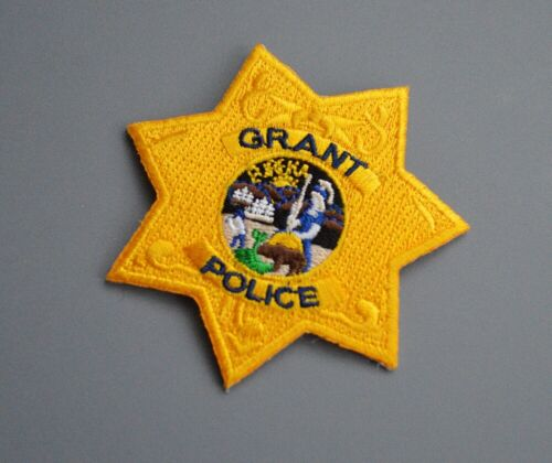 Grant Joint Union High School District California Police Patch