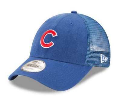 78fb709a New Era MLB Chicago Cubs Trucker 9Forty Adjustable Baseball Hat 940 11591211