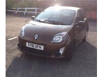 2011 (61) Renault Twingo 1.2 Low Genuine Miles Immaculate Condition, Brown, Ideal First Car