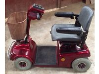 Shoprider soveriegn 4 medium size pavement mobility scooter