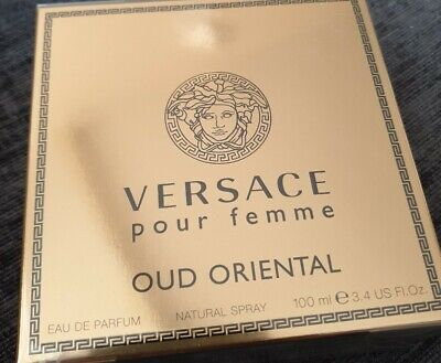 Versace Pour Femme Oud Oriental 100ml EDP Spray Authentic Boxed Sealed