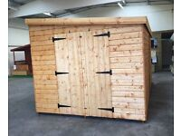 We make custom sheds and summerhouses