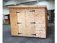 We make custom sheds and summerhouses