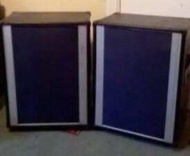 Pair of Peavey PA Speakers 600w