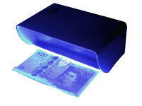 Bank note checker with UV light (detects forged bank notes)