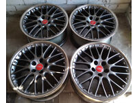 R19 BBS SPEEDLINE Alloys * 2 piece Splits * OEM Genuine AUDI * MINT!