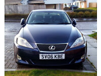 Lexus IS 220 D Diesel 6 Speed Tow bar 11 Months MOT