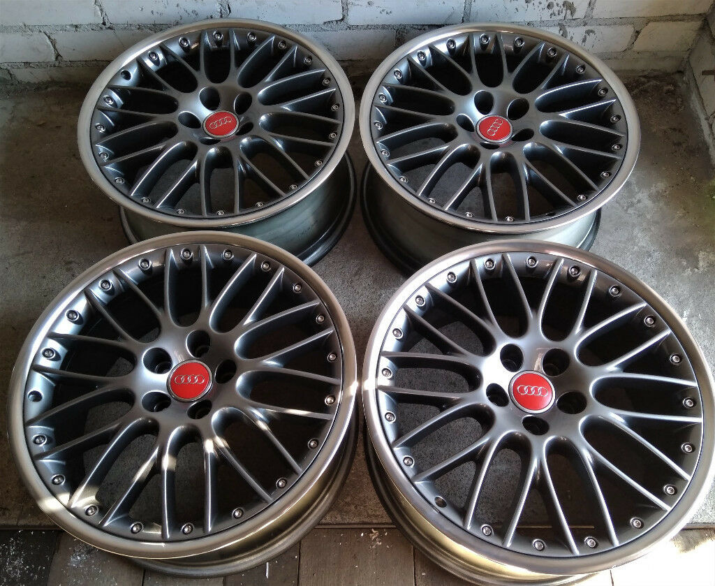 R19 BBS Alloys * 2 piece Splits * OEM Genuine AUDI * MINT!