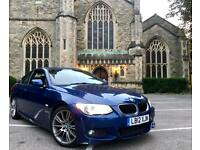 "2012 ""12"" BMW 320d LCI Facelift M Sport Coupe Manual 126k I Drive Idrive Sat Nav Bluetooth Hpi Clear"