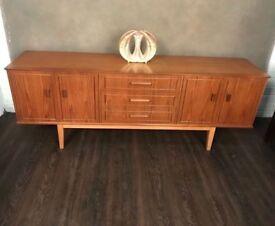 Retro mid century teak sideboard